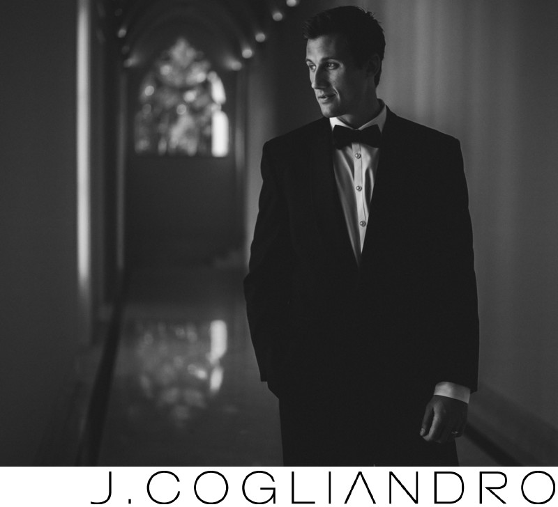 The Groom Waits Houston Wedding Photography