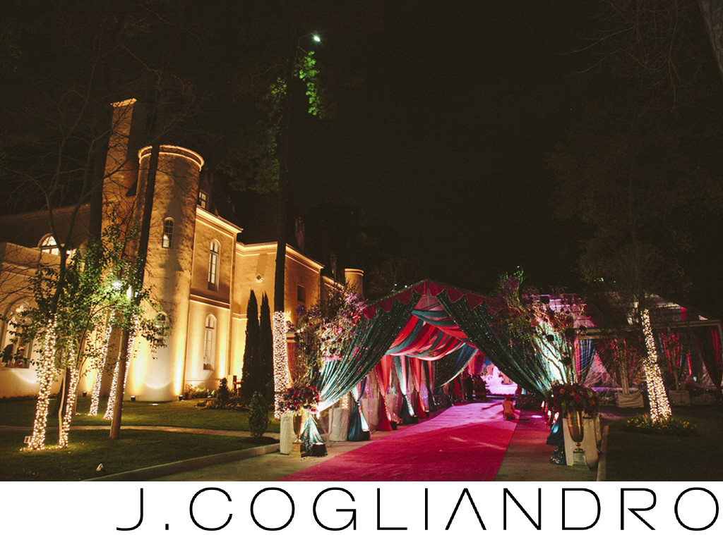 Best Outdoor Receptions at Chateau Cocomar Houston