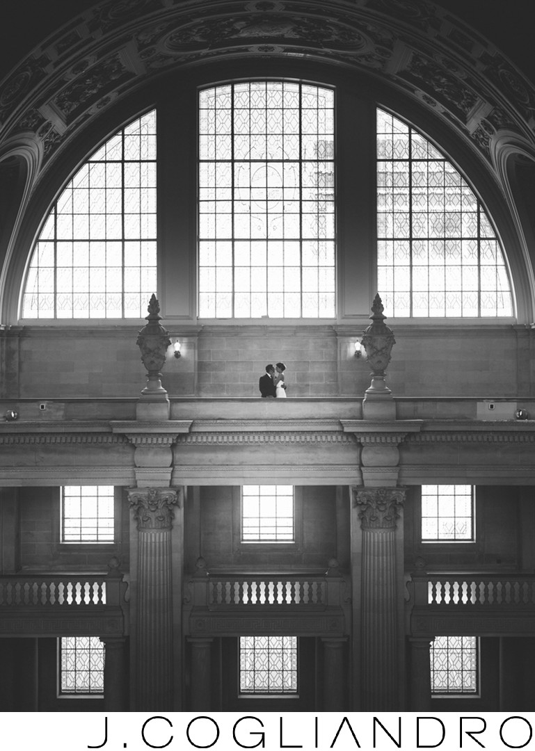 Fine Art Wedding Photography in San Francisco City Hall