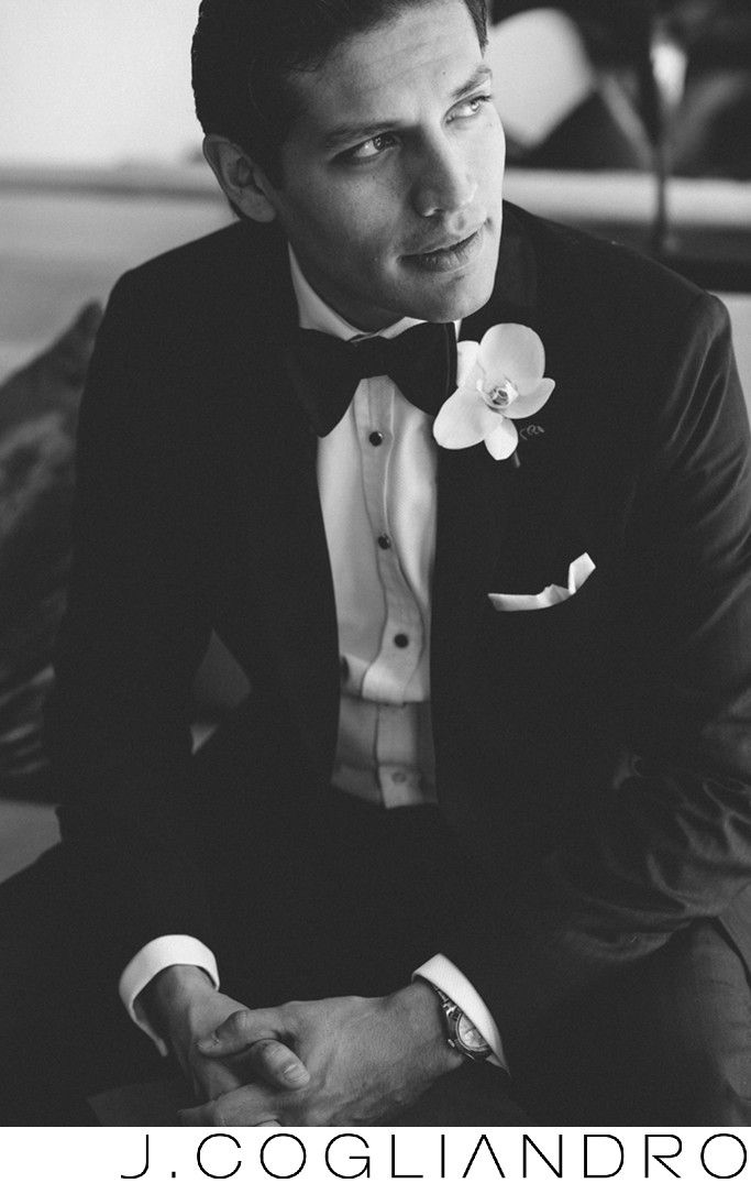 Dapper Groom Wedding Photography at Epic Hotel