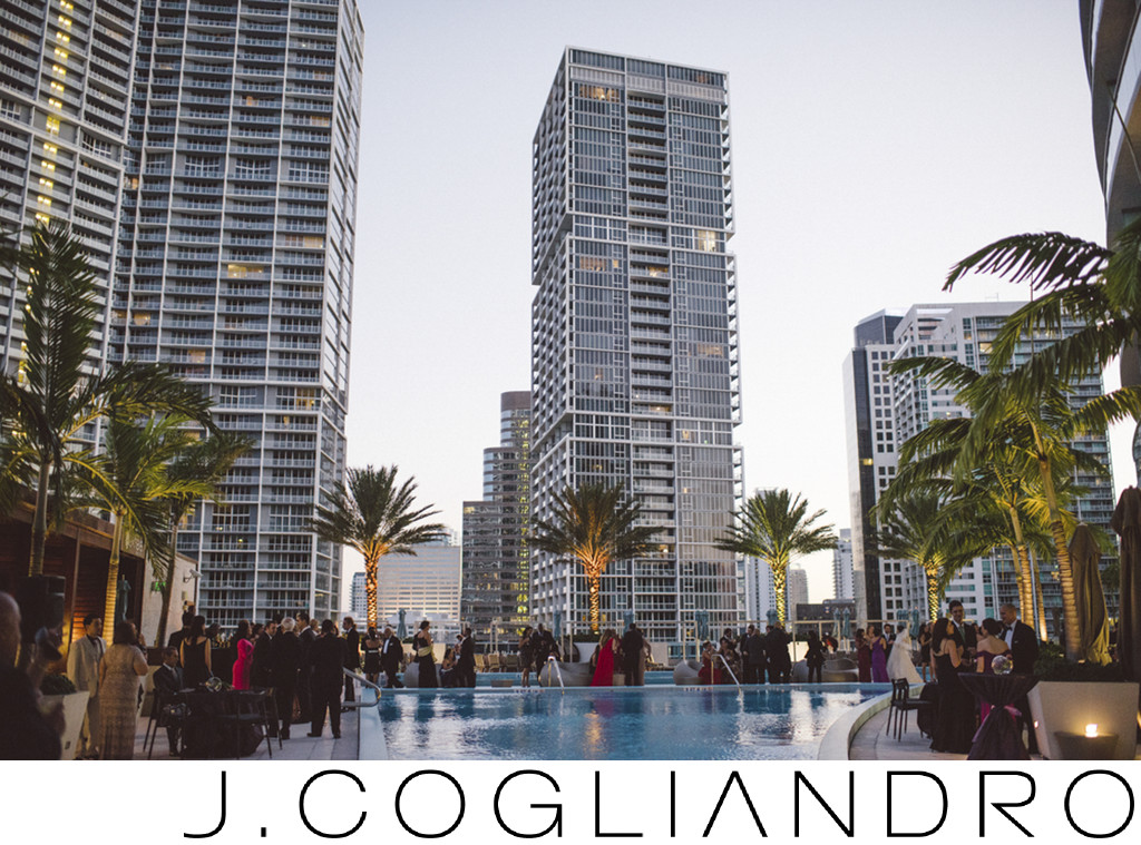Best Miami Cocktail Hour Venue at Epic Hotel