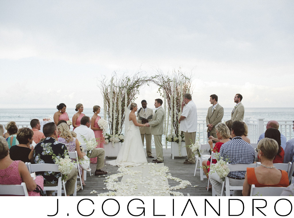 Ocean Ceremony at One and Only Ocean Club in Bahamas