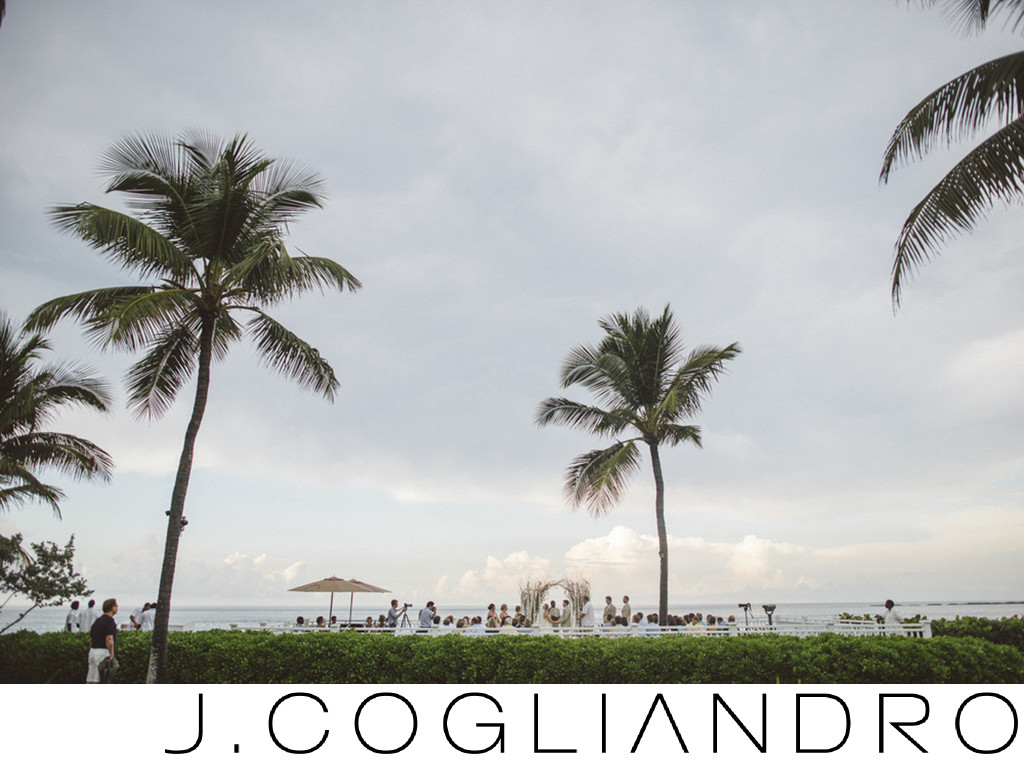 Bahamas Wedding Ceremony at One and Only Ocean Club