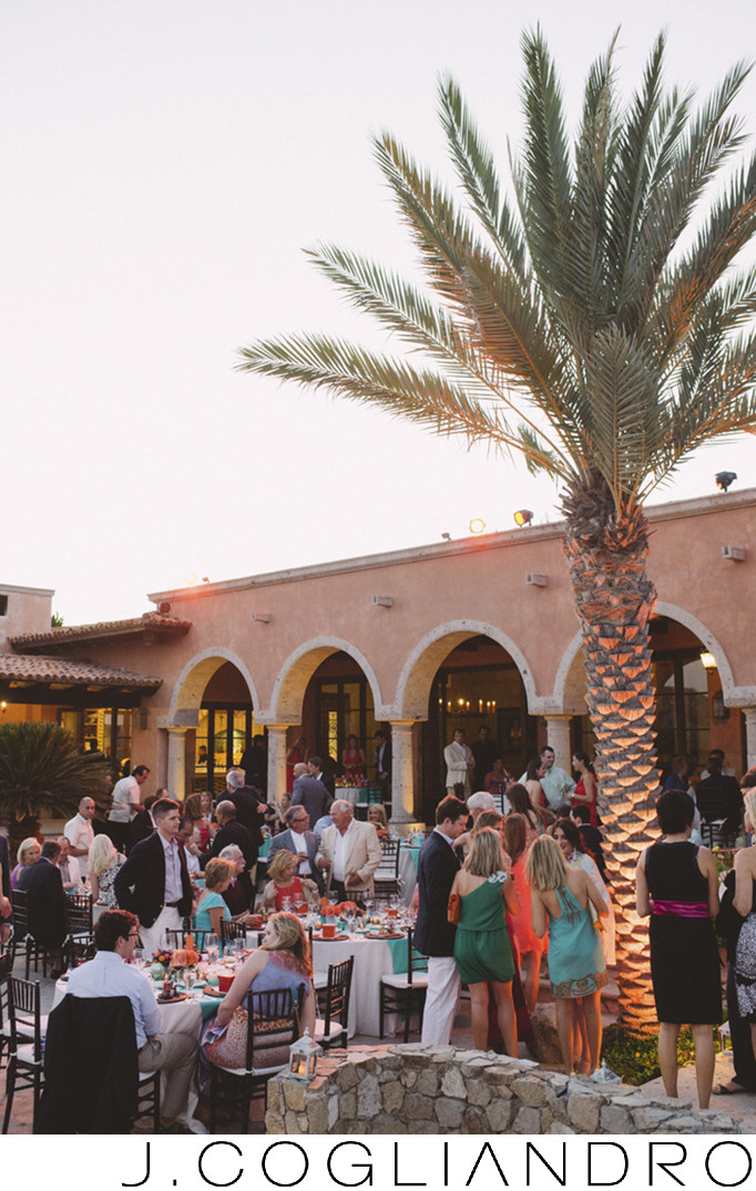 Destination Rehearsal Dinner at Villa Vista Bellena
