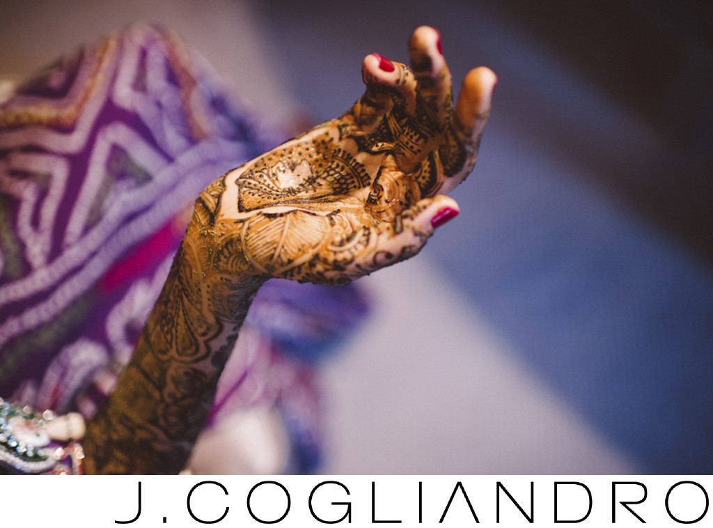 Fine Art Photography of Henna for Indian Wedding