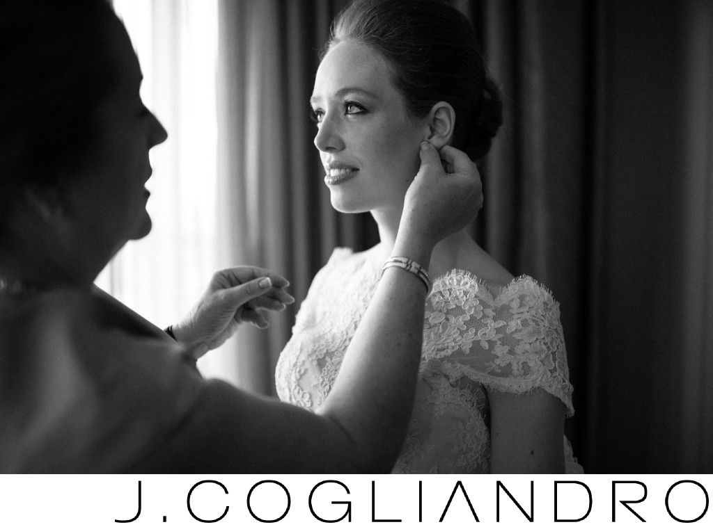 Bridal Preparations at Hotel Zaza in Houston