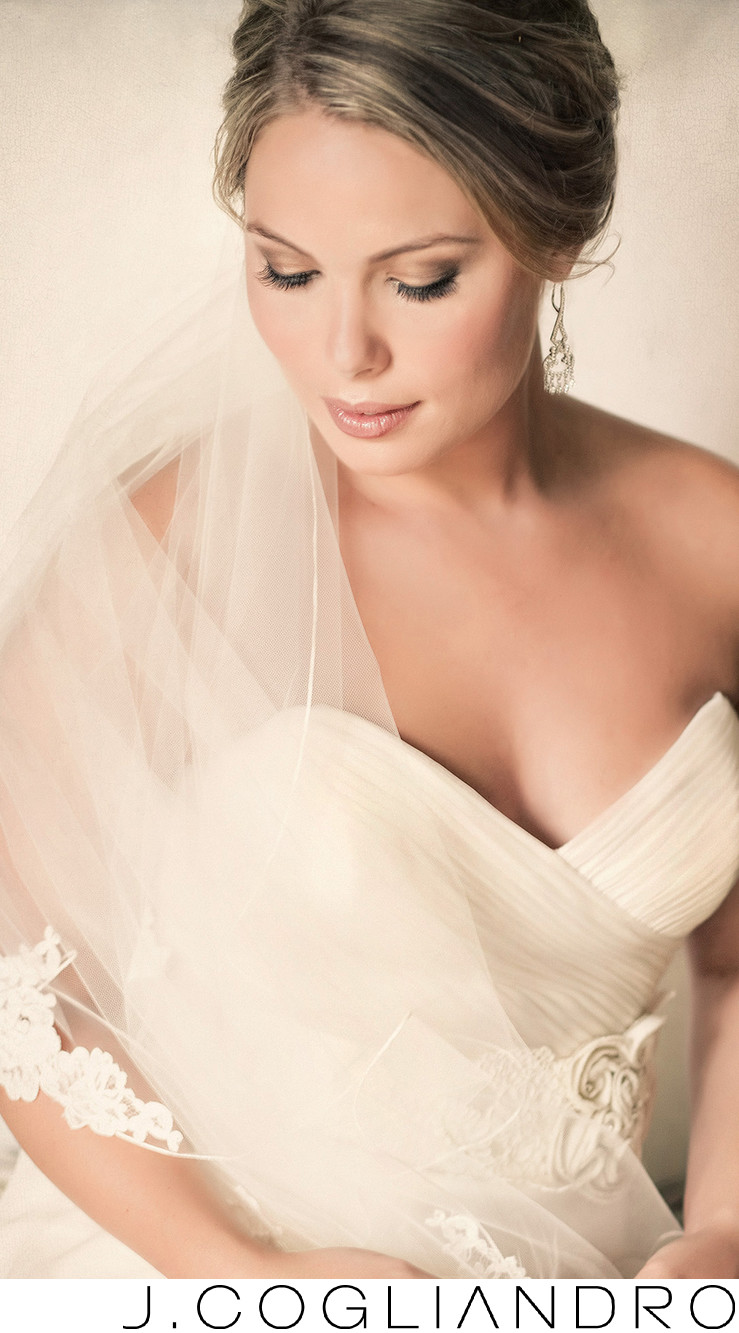 Bridal Portraits at Chateau Cocomar Houston