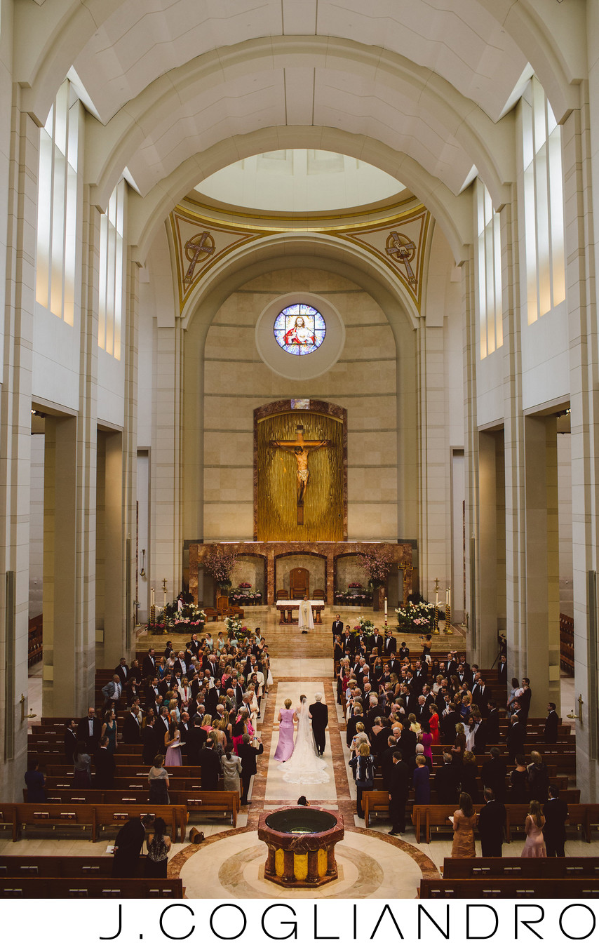 The Ceremony at Co-Cathedral of the Sacred Heart