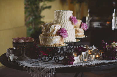 Desert Table Wedding Details at Querencia in Los Cabos