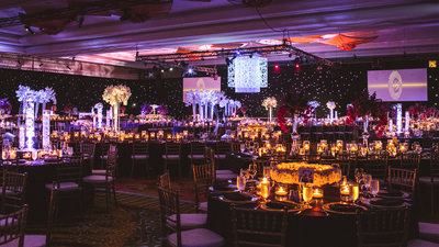Elaborate Reception Decor at Grand Hyatt Hotel Orlando
