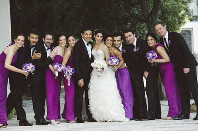 Bridal Party Miami Wedding Portraiture