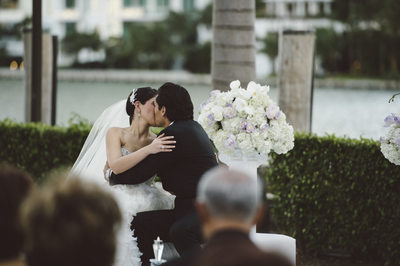 Romantic Wedding Photography at Epic Hotel in Miami