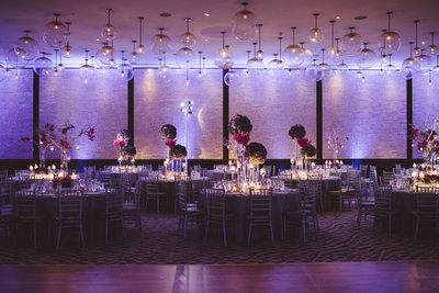 Table Decor and Florals at Epic Hotel in Miami