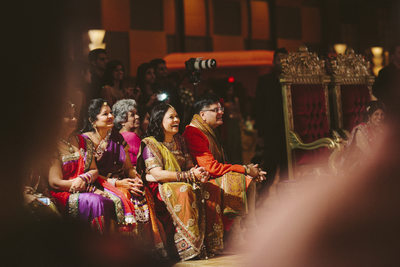 Guests Enjoy the Show Best Indian Wedding Journalism
