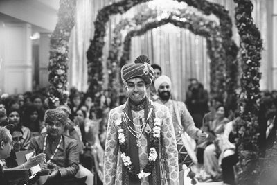 Best South Asian Photography of a Groom in Houston