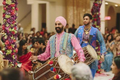 Ceremonial Music at South Asian Weddings in Houston