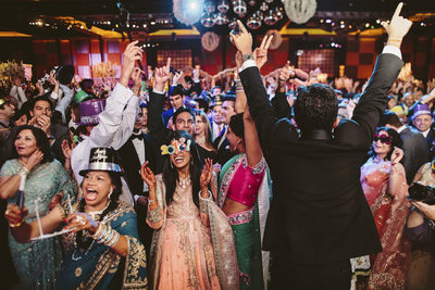 New Years Eve Wedding Reception in Houston