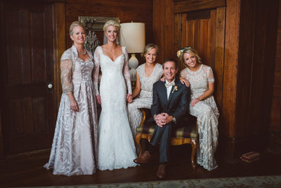 Portrait of Houston Family Wedding Photographer