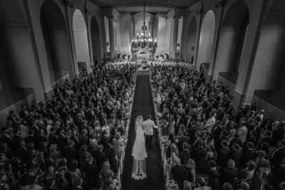 Wedding Ceremony at First Presbyterian Church Houston