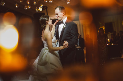 First Dance at The Bayou Club in Houston Reception