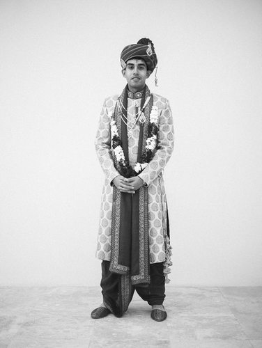 The Groom South Asian Portraiture at Chateau Cocomar