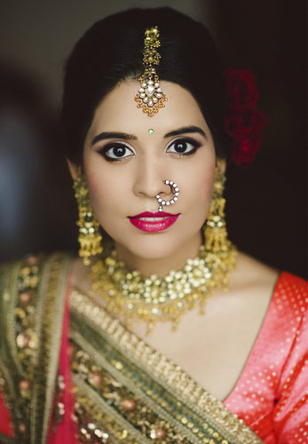 Indian Bride Portrait at Hyatt Regency Orlando