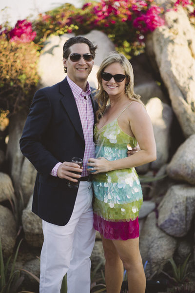 Couple's Rehearsal Dinner at Villa Vista Bellena Cabo