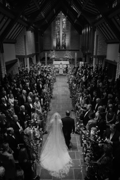 Wedding Ceremony at St. John the Divine Houston