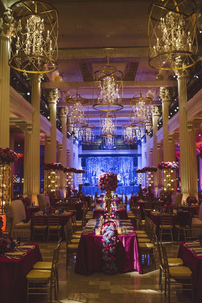 Wedding Reception Hall at The Corinthian in Houston