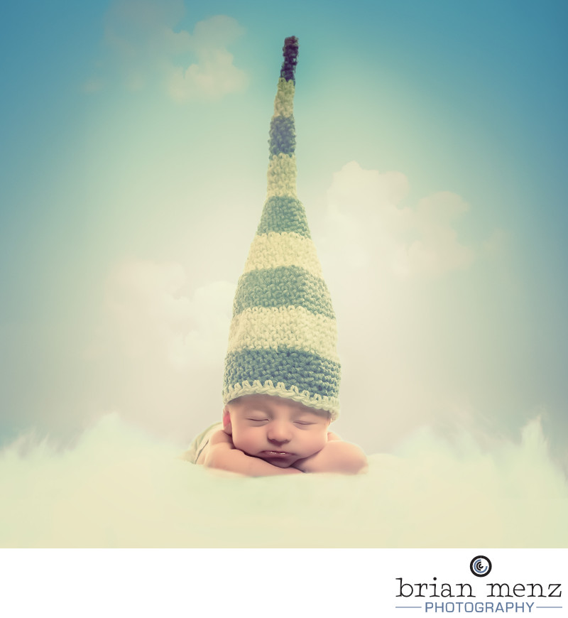 Conceptual Newborn Photography Kalamazoo Michigan