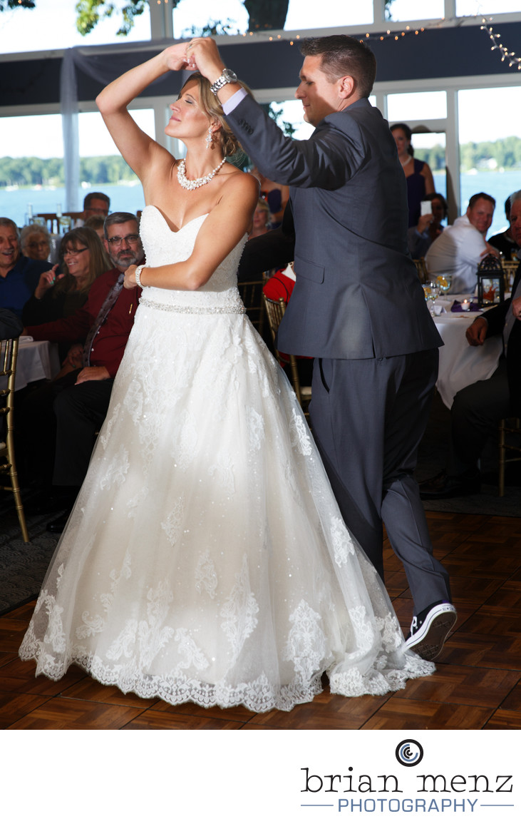 bride-groom-first-dance-gull-lake-country-club