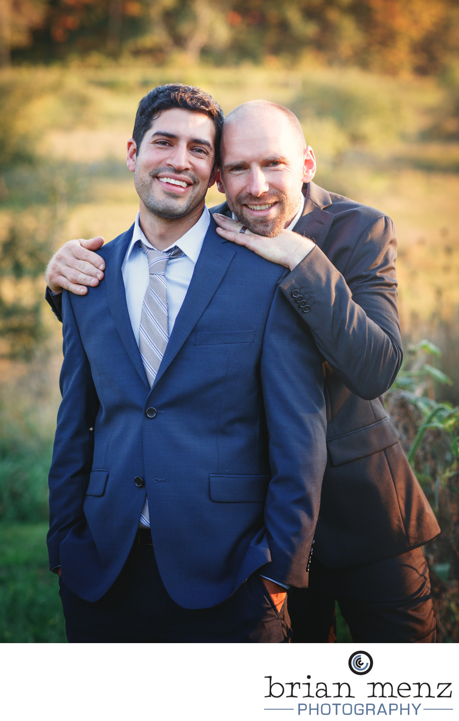 gay lgbt wedding portrait kalamazoo wedding photographer