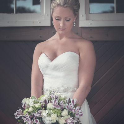 bridal portrait mill creek barns michigan