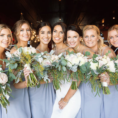 kalamazoo wedding photographer bridesmaids