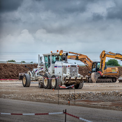 photo de chantier pelle camion engin dijon bourgogne