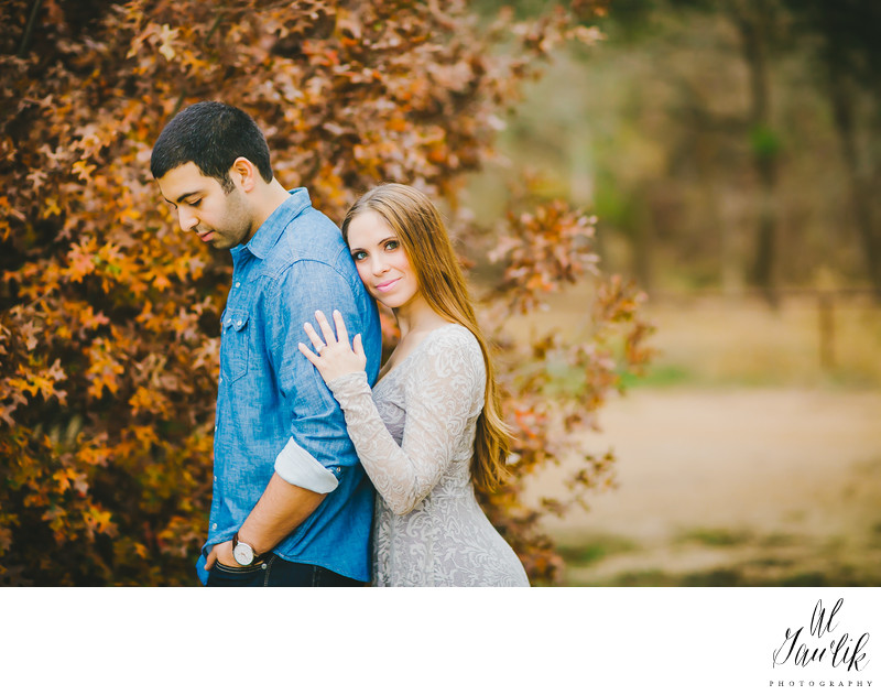 Texas Engagement Photographer colors of fall