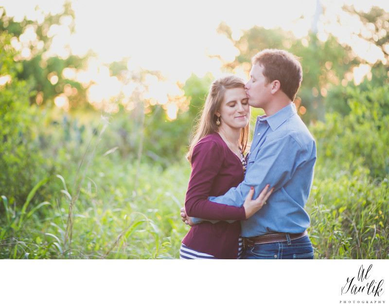 Engagement Photo is splendor in the grass