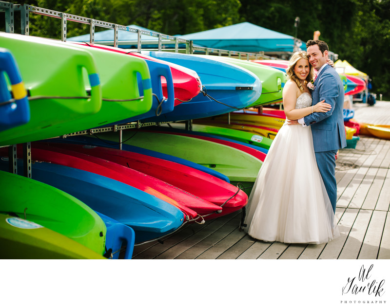 Sail away with Marie and Ryan Wedding Portrait