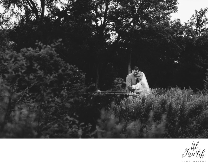 Texas wedding photographer black and white portrait