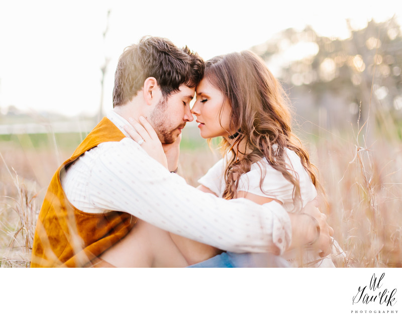 Texas Engagement Photographer captures tender moment