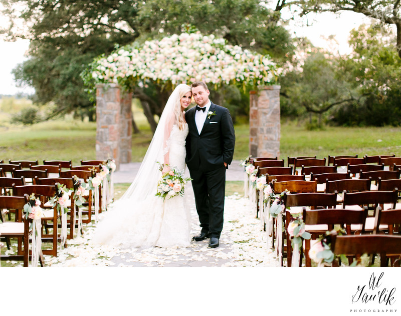 Texas Wedding Bride and Groom