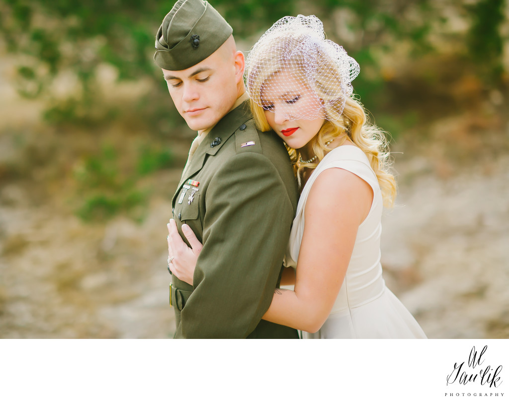 Texas Wedding A Marine and Bride Classic and Timeless
