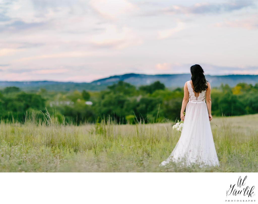 Texas photographer hill country wedding