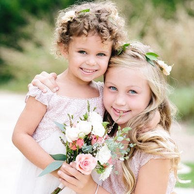 Texas Wedding Photographer, Flower Girls