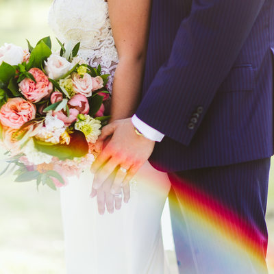 Rainbow Wedding, Texas photographer, Austin, Driftwood