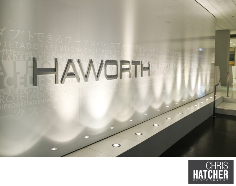 HAWORTH - A&D AND CUSTOMER OPEN HOUSE. Held at the Haworth Showroom in Santa Monica, CA