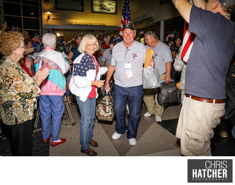 Honor Flight Kern County Memorial Weekend trip to Washington D.C. May 25, 2012 - May 27, 2012. ©2012 Chris Hatcher Photogrpahy