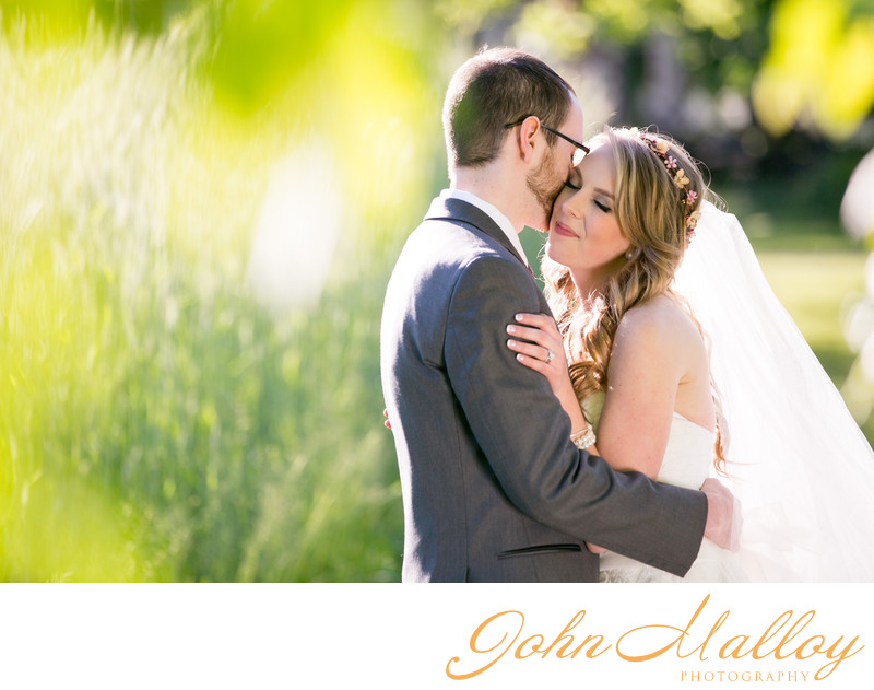 Wedding Kiss at Landis Valley Museum