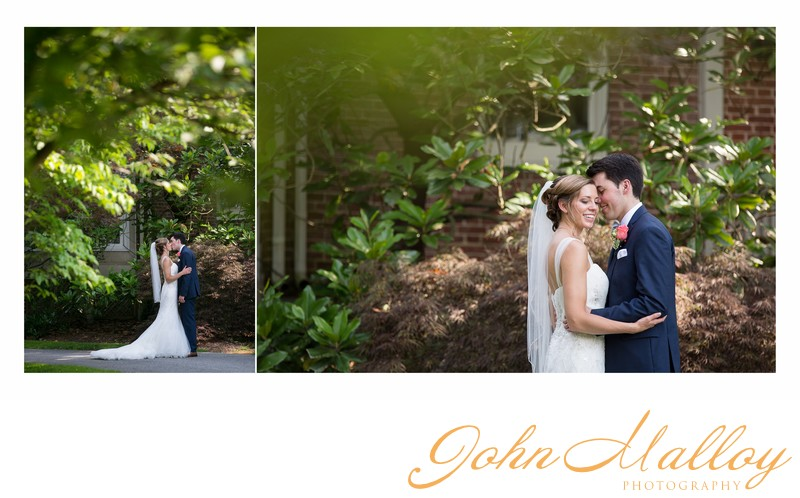 Elegant Kiss Bridal Portrait, Stone Mill Inn