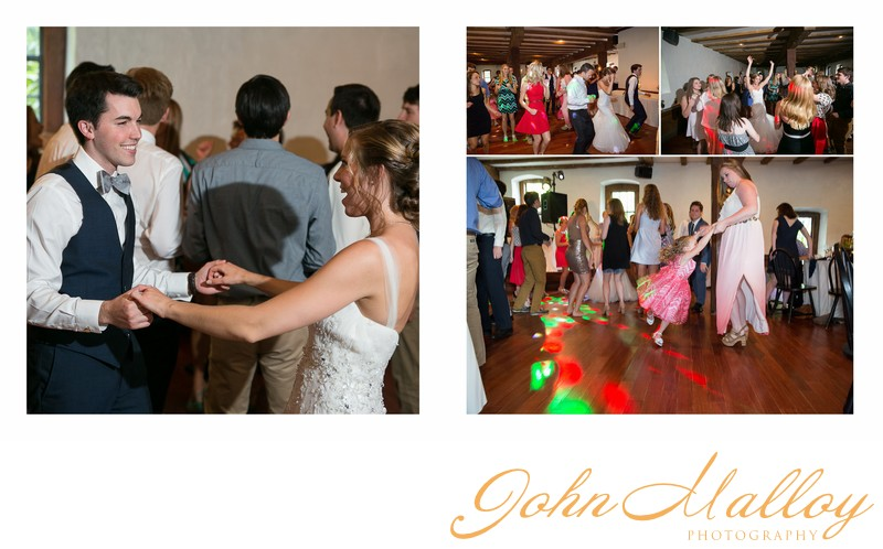 Joyful Dancing Wedding Reception, Stone Mill Inn